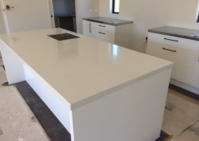 50mm White Engineered Stone