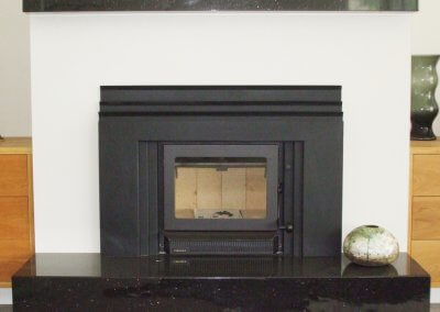 Black Star Galaxy Granite Hearth