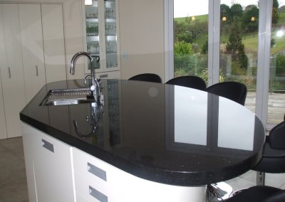 Black Star Galaxy Granite Laminated to 60mm