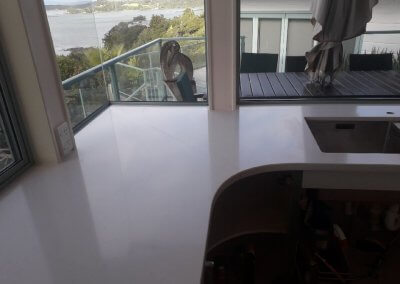 Statuario Eternal Silestone 30mm laminated